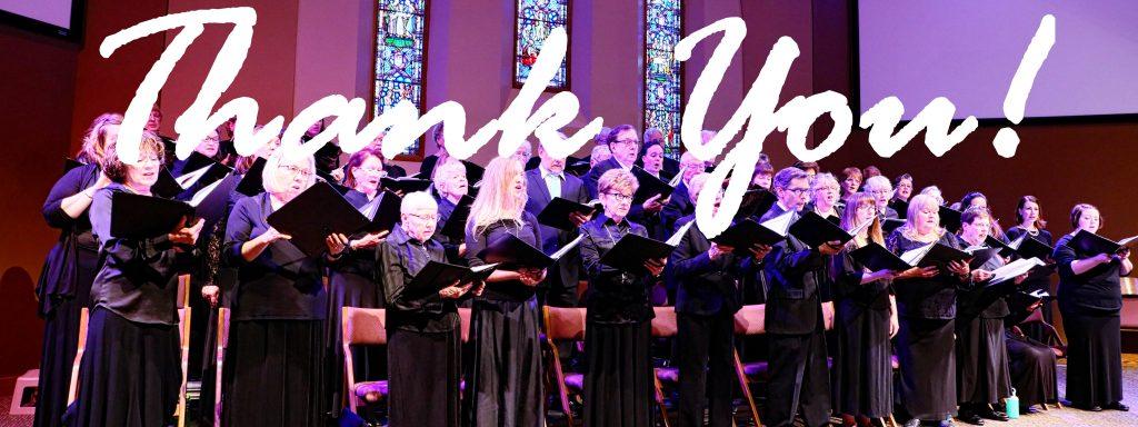 West metro community choir